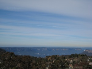 blue mountains - photo one