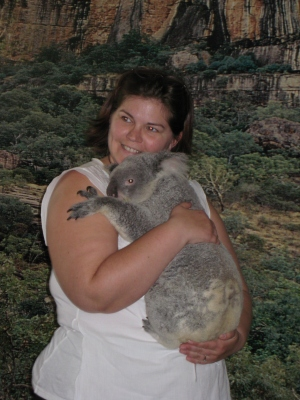 jo and koala photo five
