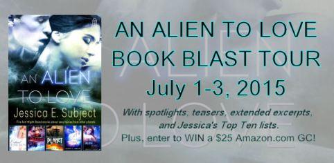 An Alien to Love Book Blast Banner