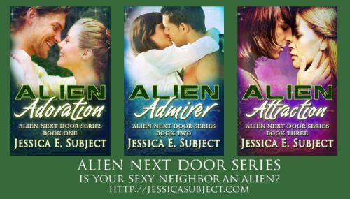 Alien Next Door series